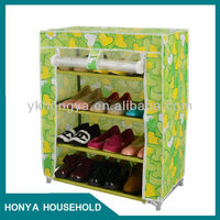 4 layer home use hallway shoe cabinet