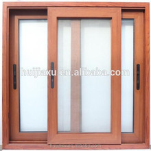 Aluminium sliding window with screen for house