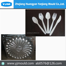 Zhejiang plastic knives, forks and spoon injection mould machine