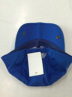 Custom design multi-panel or 6 panels foldable sun hats and fold brim cap