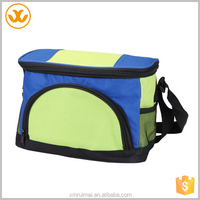 New product customized green and blue insulated oxford cooler lunch bag