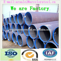 ASTM A53 Welded Carbon Steel ERW Pipe/Precision ERW steel pipe line