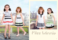 Gungzhou Wholesale Childrens Clothing Latest Children Dress Designs Kids Fashion Girl Dress Manufacturer