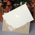 nuevo 2014 de papel de lujo de la boda tarjetas de invitación