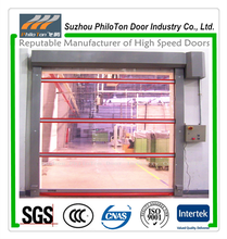 Transparent High Speed Rolling Shutter Doors