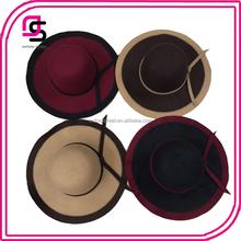 Yiwu Contrast Color Patchwork Ladies Felt Party Hats