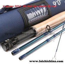 In stock Low price 9ft 5wt 4pc carbon fly rod