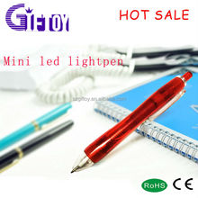 NEW Translucent Red Light Up INK LED PEN