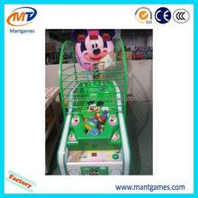 Super quality Small basketball/hotsell fun basketball shooting machine for sale