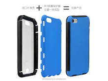 With screen protector shock proof mobile phone cover case for iphone 5c