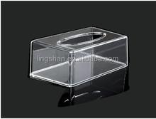 Transparent Acrylic Boutique Tissue Box Rectangle