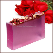 Handmade Soap Dead Skin Remove Rose Flower Soap With Flower Petals