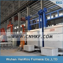 RT4 High temperature electrical bogie hearth furnace for annealing, stress relieving, tempering and hardening