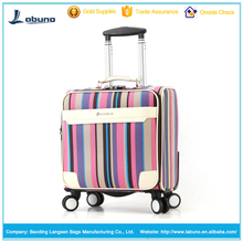 wholesale newest style PU best classic trolley luggage bag