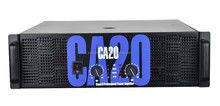 CA 20 Class H professional audio power amplifier with 2ohms