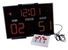 Single side basketball scoreboard Shows scores
