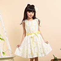 fashion flower girl party wear western dress