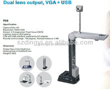 Education visualiser, new concept document camera, high speed live presention equipment
