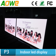 High brightness and well radiating indoor p6 led display