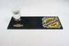logo print rubber bar counter mat