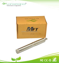 E-cigarette MFT kit double tank for amazing vapor and flavor-blending