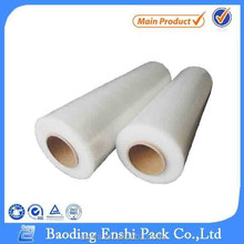 High quality transparent pe stretch plastic wrap
