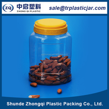ODM supplier PB food grade plastic round 1200ml clear plastic bottles for food