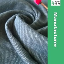 2015 Knitted Cotton Polyester Knitted Twill Fabric Stretch Knitted Denim Fabric