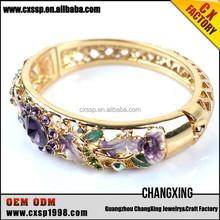2015 Beautiful fashion gold diamond cotton friendship bracelet