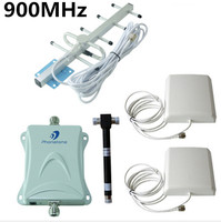 Repetidor Celular 900MHz Mobile Signal Booster GSM 3G Amplifier Kits for Home Office Building