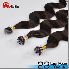 directly factory italian glue double drawn cheap remy micro-ring hair extension