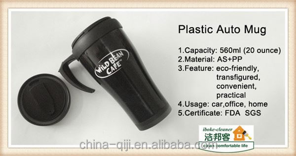 20 oz drinkware manilla plastica hot pink taza mug