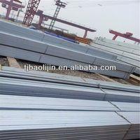 ASTM A653 CS TYPE B Pre-galvanized square steel pipe