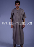High quality Arabian thobe moroccan kaftan for men Ready goods in factory