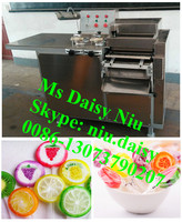 commerical candy cutting machine/round candy cutter/small round candy making machine