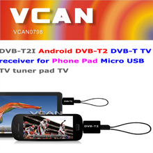 New usb tv tuner for android tablet DVB-T2 DVB-T for Phone Pad Micro USB TV tuner wholesale