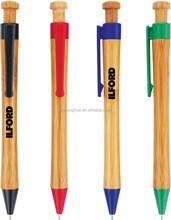 green wooden ballpen customized wooden logo pens BP-5580