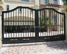 simple steel gate design for villa