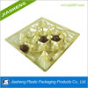 Recyclable disposable plastic compartment tray for chocolate