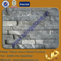 Natural Wall Decoration Grey Culture Slate Stone