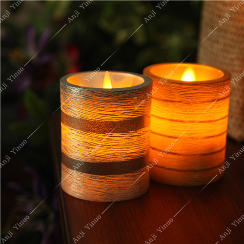 2015 flat top moving wick luminara candles wholesale buy for Top selling candle fragrances