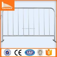 Heavy Duty Crowd Control Steel Barrier/Enclosure the Pedestrian/Portable Crowd Control Fencing Professional Factory