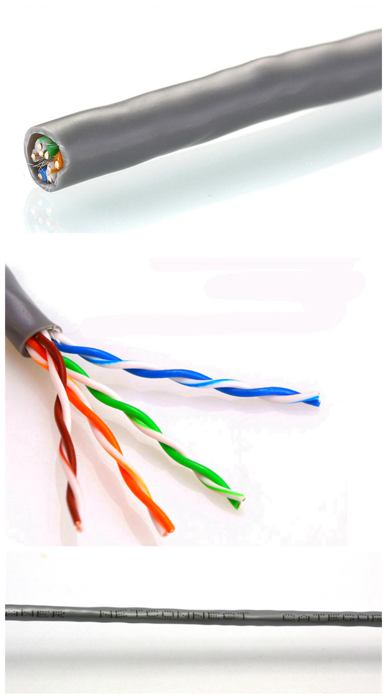 Made In China Bare Copper Yellow Blue Grey Color Cat5 Cable Tel Wiring Diagram 2