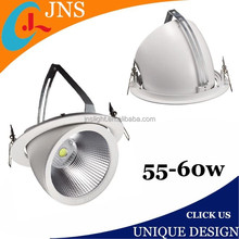 Diecast aluminum alloy high power led gimbal downlight round led downlight