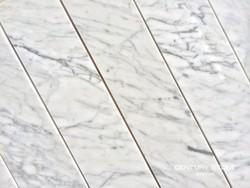 "Wholesale 4""*18"" polished carrara white marble tile for flooring"