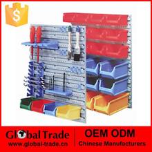 Multi Functional Organiser System.Plastic Wall Mounted Storage Bins Rack Board Bin .T0016