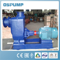 ZW self priming non clog solid waste pump