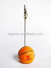 Promotional New arrival Basketball Memo Clip Holder
