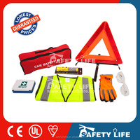 Auto safety kit roadside car emergency kit