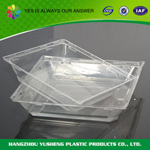 Promotional custom plastic trays for chocolate boxes